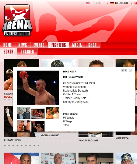 arena boxpromotion