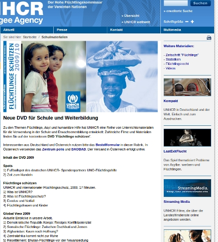 unhcr - the un refugy agency